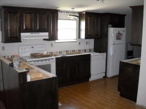 full kitchen cabinet remodel